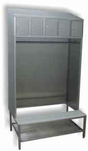 Гардеробные комплекты, шкафы и ящики, Гардеробные комплекты ZS, Гардеробный комплект ZS-5, Гардеробный комплект ZS-10, шкаф, Комплект, Шкаф для грязной одежды и полотенец, Ящики для завтраков