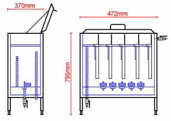 Стерилизатор, Стерилизатор центральный, центральный Стерилизатор, Стерилизатор для ножей, Стерилизатор для пил, Стерилизаторы, Стерилизатор электрический, Стерилизатор электрический, Стерилизатор бутылочек